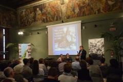 La prima conferenza di Daoud in Italia. 2016