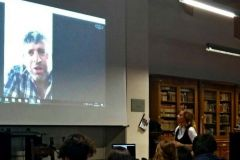Incontro con un liceo via Skype. 2016