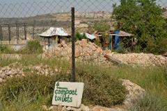 La zona del Compost Toilette