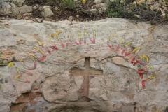 La cappella per i pellegrini che vogliono pregare