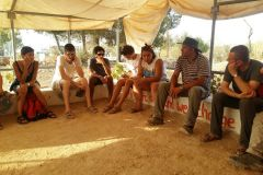 Testimonianza ad un gruppo in pellegrinaggio