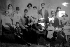La famiglia Nassar. Foto anni '20