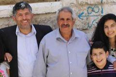 La Famiglia di Daoud con il fratello Daher e mamma Melade