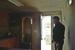 Grotta trasformata in appartamento - ingresso
